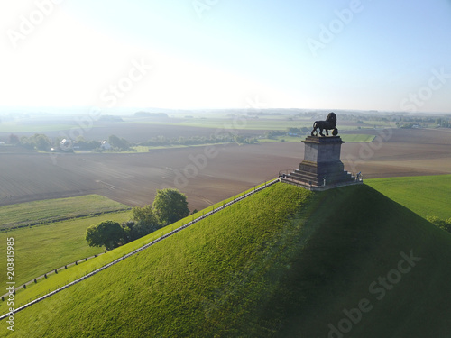 Canvas Print Waterloo tourisme 1815 memorial bataille lion