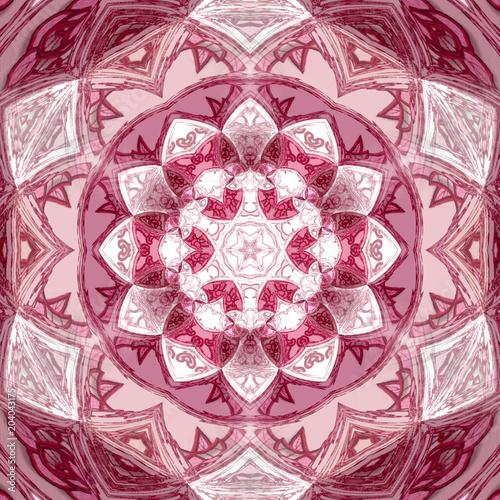 Fotografie, Obraz grenadine mandala background design