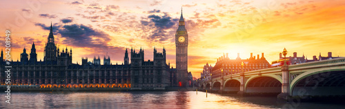 Photographie Big Ben and House of Parliament
