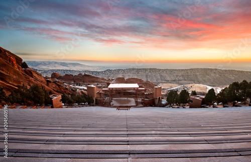 Photo Red Rocks at sunrise
