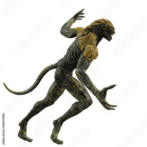 Fotografija reptilian king from space