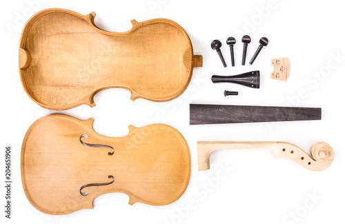 Photo Violin parts