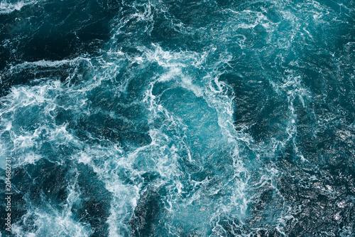 hazardous swirl on the mediterranean sea
