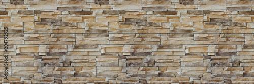 Stone wall brick texture Fototapeta