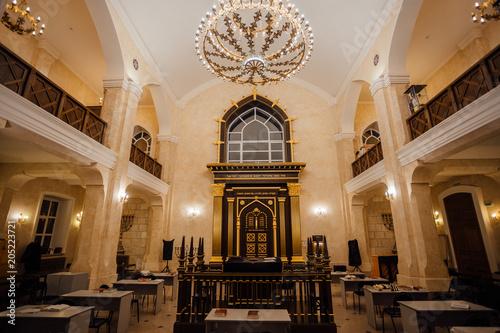 Carta da parati Inside of Voronezh Synagogue, no people