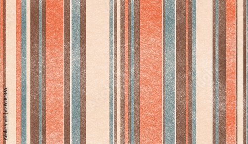 Photo retro color palette background design with abstract thin and thick striped verti