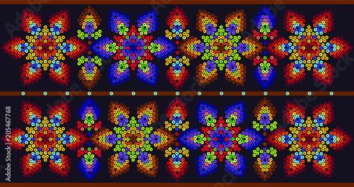 Fototapeta Floral  design - Colorful decor