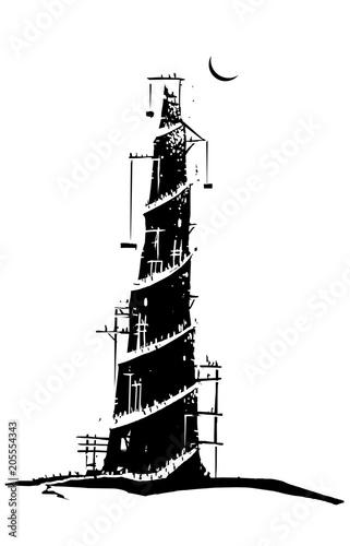 Vászonkép Tower of Babel