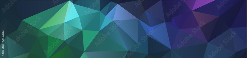 tło projektu Geometryczne tło w stylu Origami i abstrakcyjne mozaiki z wypełnieniem gradientowym Kolor. prostokąt <span>plik: #205601382   autor: prathum</span>