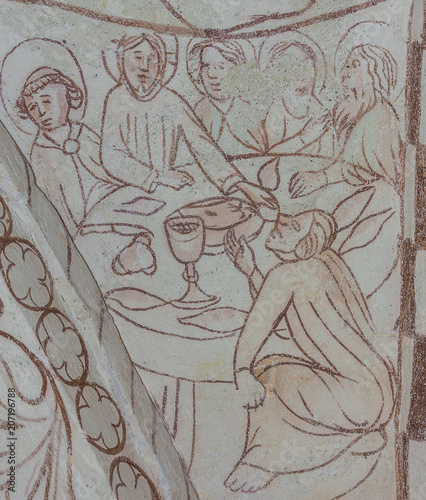 Fotografia, Obraz The Last Supper or the holy communion