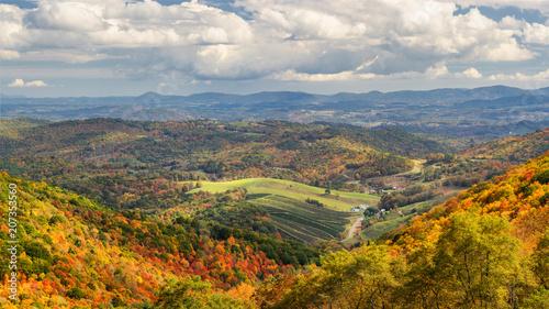 Fotografia Autumn at Grayson Highlands State Park Virginia