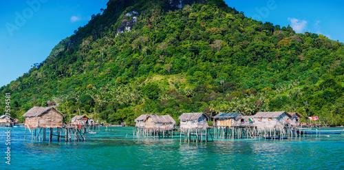 Photo Sea gypsy village