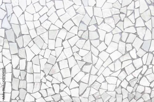 Photo Broken tiles mosaic seamless pattern
