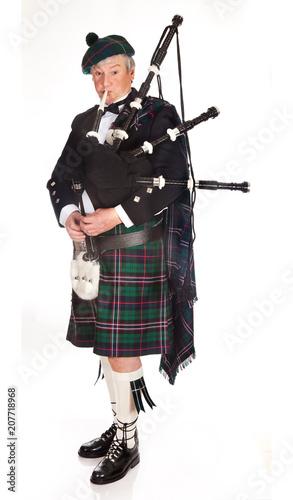 Stampa su Tela Scottish bagpipes