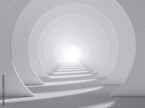 Plakat Tunel powiększający pomieszczenie