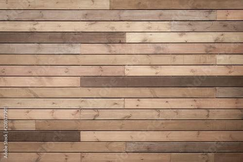 Fototapeta toned wood planks background or texture