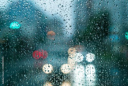 Canvas Print 雨・水滴
