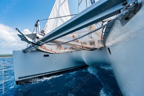 Katamaran jacht na rejs