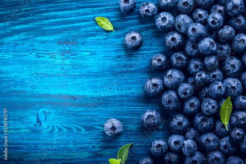 Fototapeta Fresh blueberry