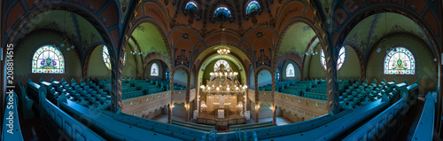 Fotografia Renovated Jewish Synagogue from the inside, Serbia