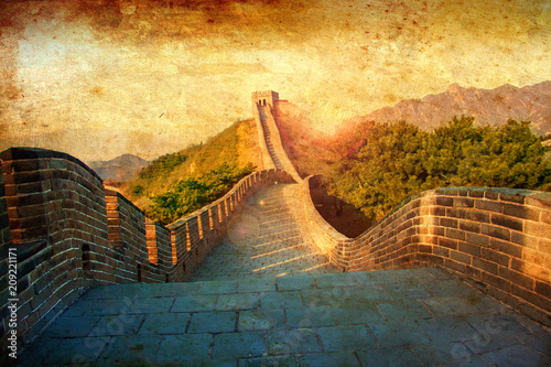 Tablou Canvas Great Wall of China