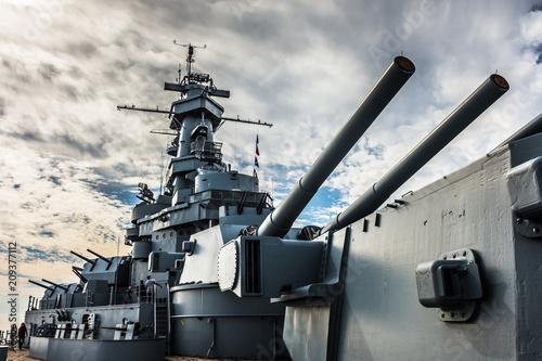 Photo Retired battleship