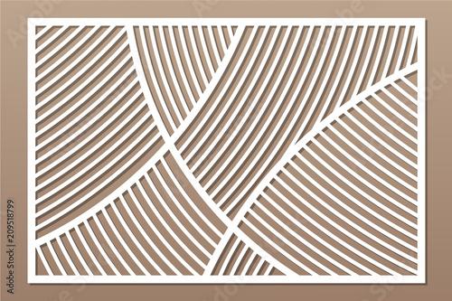 Cuadros en Lienzo Decorative card for cutting