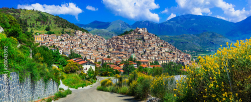 Fotografie, Tablou Morano Calabro - one of the most beautiful villages of Italy
