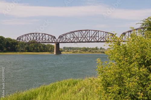 Tableau sur Toile Railroad bridge