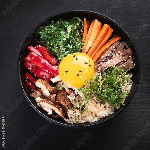 Bibimbap - traditional Korean dish