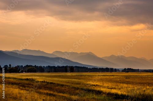 Photo Beautiful Montana Landscape