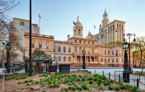 Foto Old New York City hall
