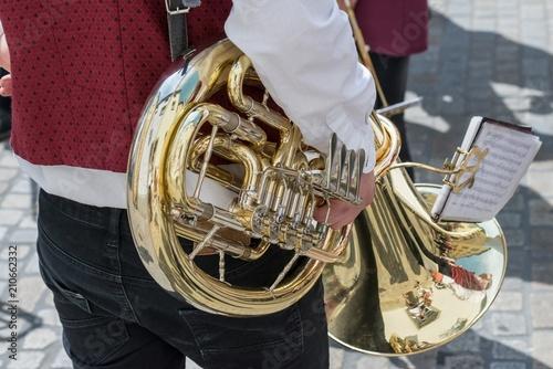 Baritonhorn einer Musikkapelle, Deutschland
