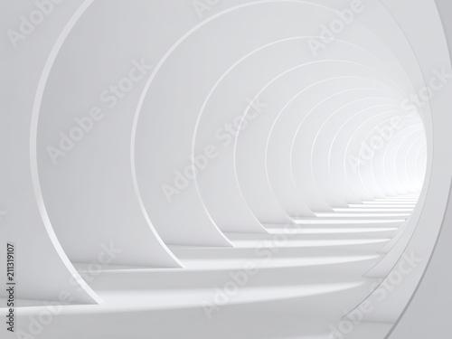 Obrazy do salonu Tunel powiększający