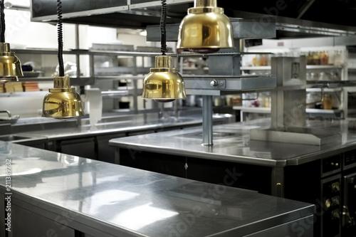 Kitchen in a restaurant Fototapeta