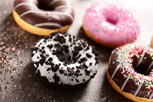 Sweet and tasty doughtnuts