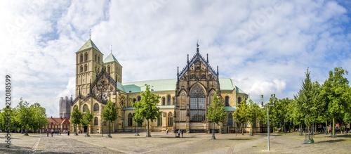 Tableau sur Toile Münster, Sankt Paulus Dom, Nordrhein-Westfalen, Deutschland