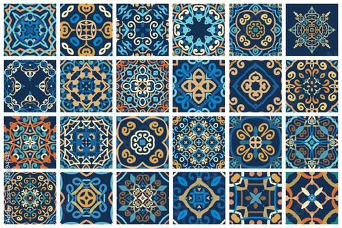 Wallpaper Mural Arabic decorative tiles