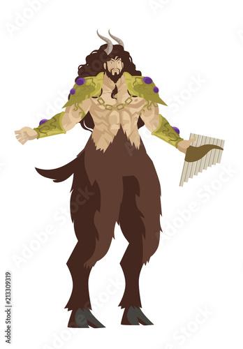 Photo greek mythology pan god