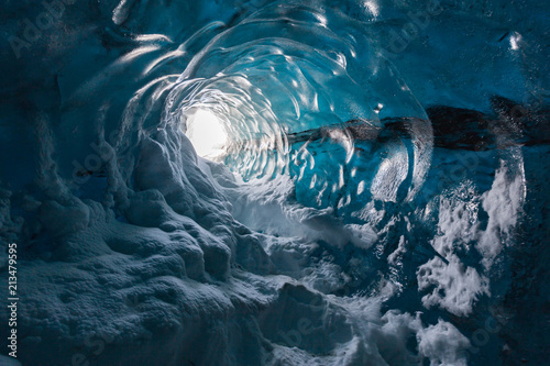 Fotografia, Obraz Ice cave