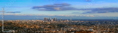 Fotografie, Obraz Los Angeles Skyline, California, Usa