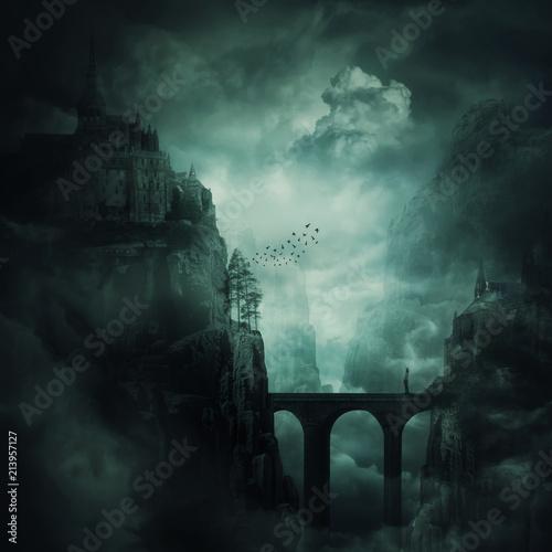 Leinwand Poster the forgotten kingdom
