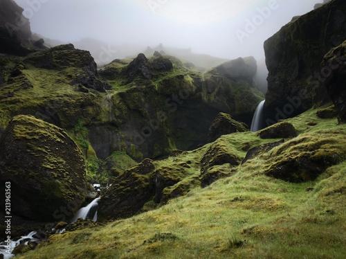 Valokuva Incredible green canyon