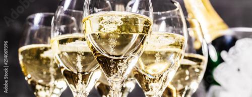 Fotografering Champagner Glas (Sekt)
