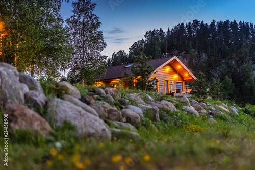 House in the forest Fototapeta