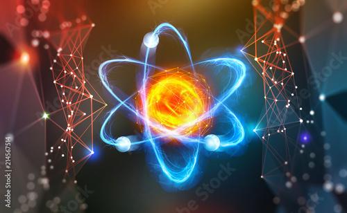 Fotografia Atomic structure