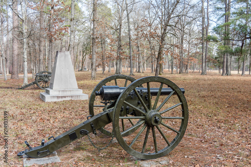 Canvastavla Chickamauga National Military Park