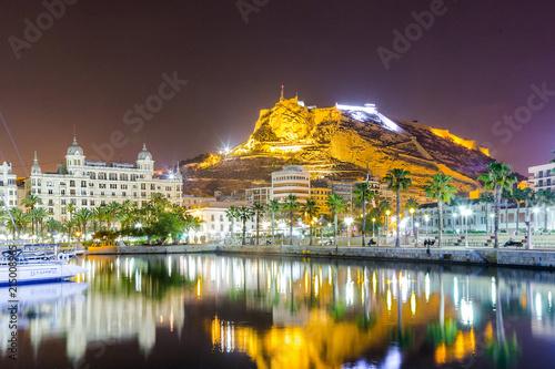 Carta da parati Hiszpania Costa Blanca Alicante marina