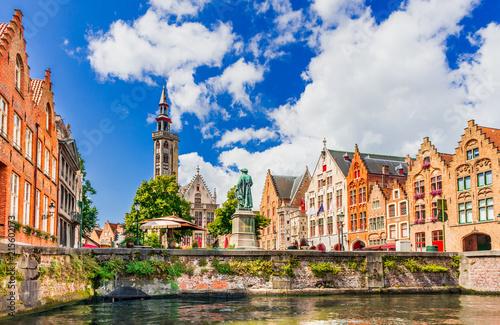 Fototapeta premium Brugia, Belgia