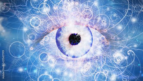 Obraz na plátně Eye of God